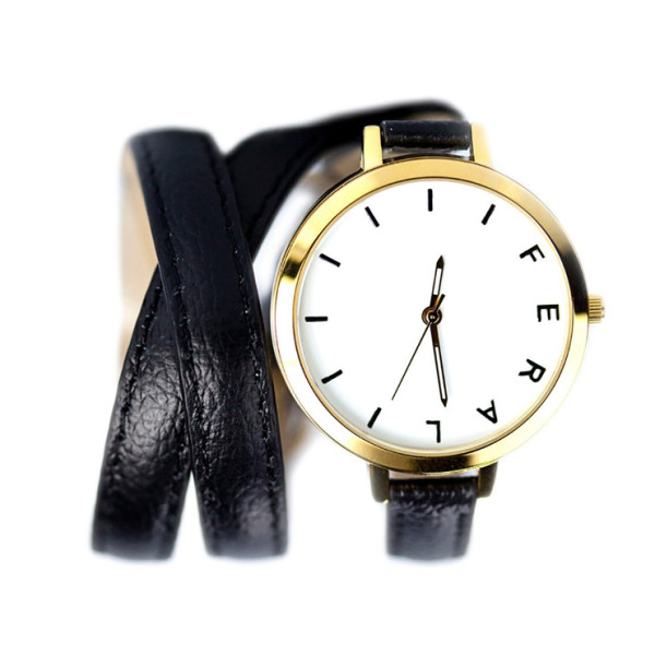 Feral Watches, The Jane Watch, Black