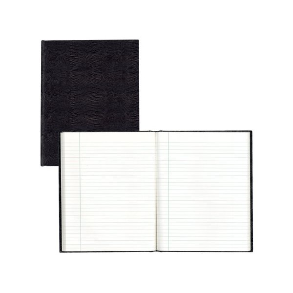 "BLUELINE Executive Journal, Black, 9.25 x 7.25"", 150 Pages (A7.BLK)"
