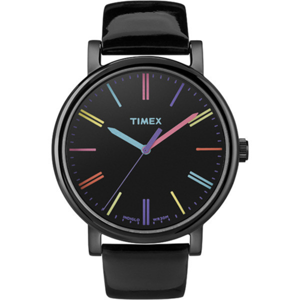 Timex Heritage Easy Reader Black Leather Strap Unisex Watch