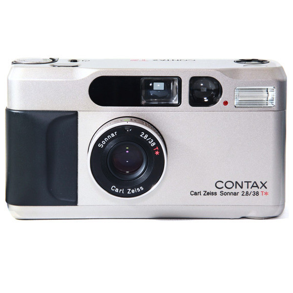 Contax T2 Carl Zeiss Lens 35mm Film Camera