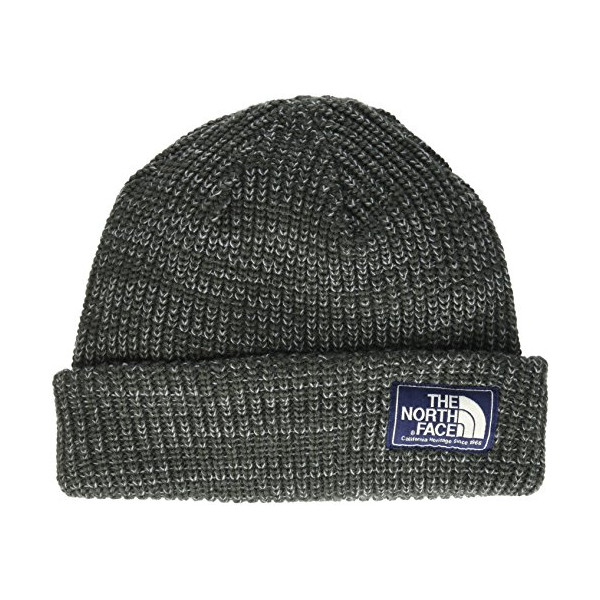 The North Face Salty Dog Beanie, Graphite Grey/Mid Grey, One Size