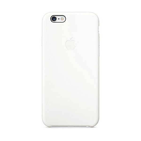 Apple MGQG2ZM/A Silicone Case for Apple iPhone 6 - White