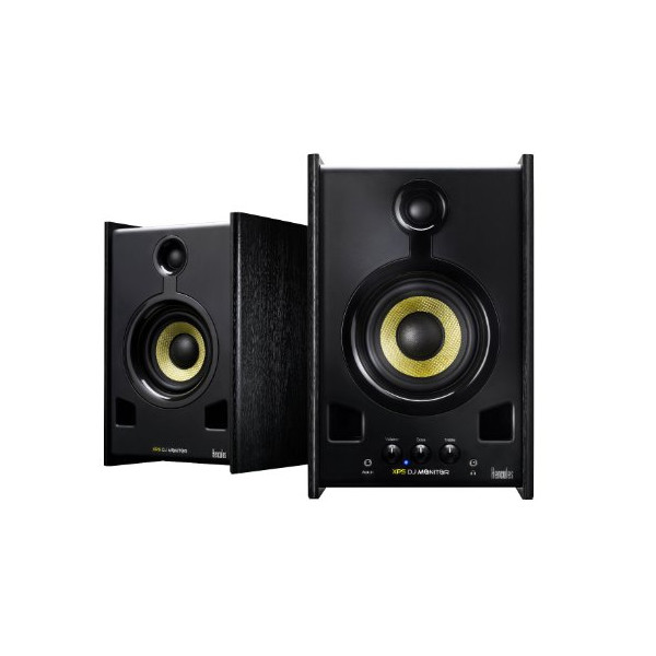 Hercules DJ4769227 XPS 2.0 80 DJ Monitor Speakers (Black,2)