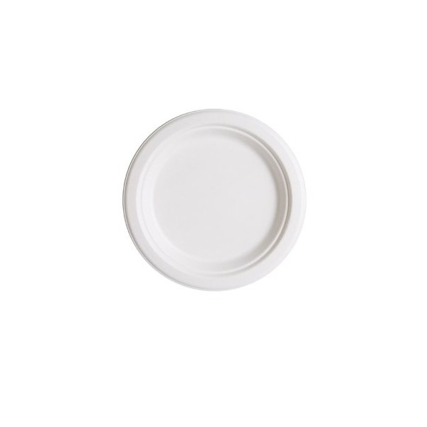 Eco-Products, Sugarcane Plate (Case of 500)