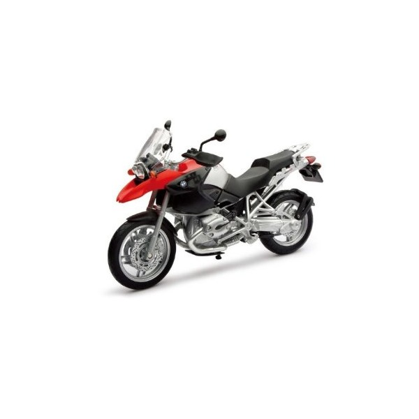 2006 BMW R 1200 GS Red/Black Bike Motorcycle 1/12 by New Ray 42763
