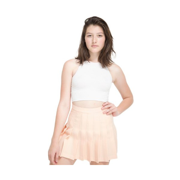 American Apparel Tennis Skirt - Sunset / M