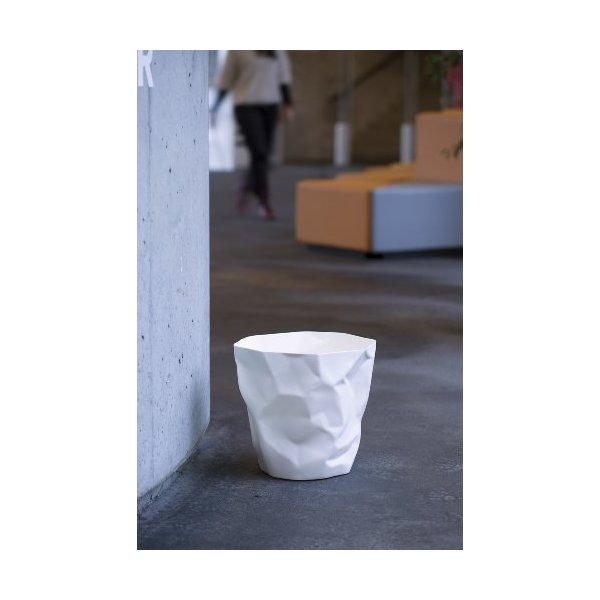 Essey Bin Bin Waste Basket in White