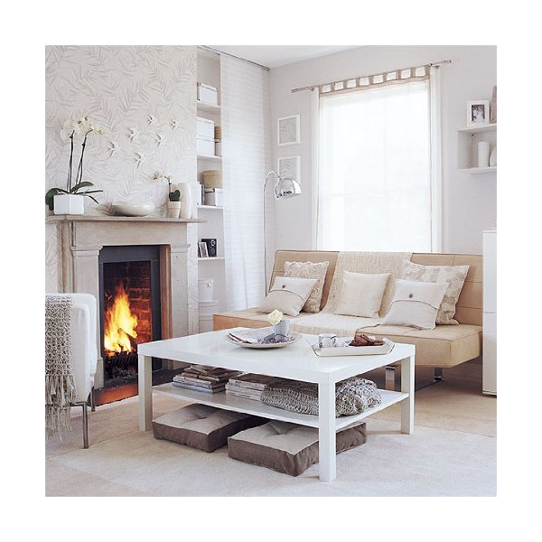 Lack Coffee Table In White