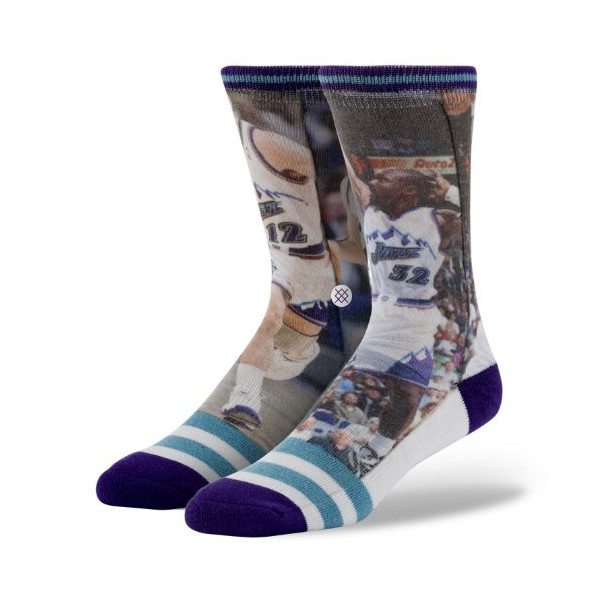 Stance Stockton Malone Utah Jazz NBA Legend Collection Socks