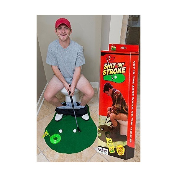 Shit N Stroke - Potty Putter Bathroom Golf