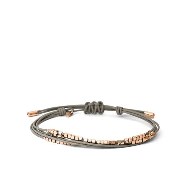 Fossil Multi-Nugget Wrap Bracelet