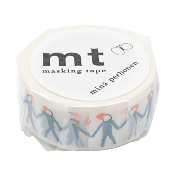 Mt Washi Masking Tapes MT Mina Perhonen - Neighbor Blue