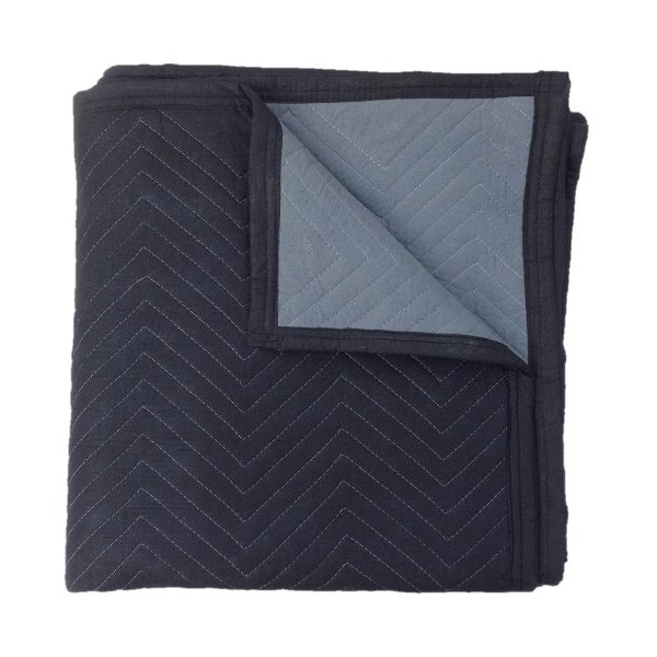 Cheap Cheap Moving Boxes 72 X 80 Inches Deluxe Moving Blankets, Pack of 4, Black/Grey (MB10104D)