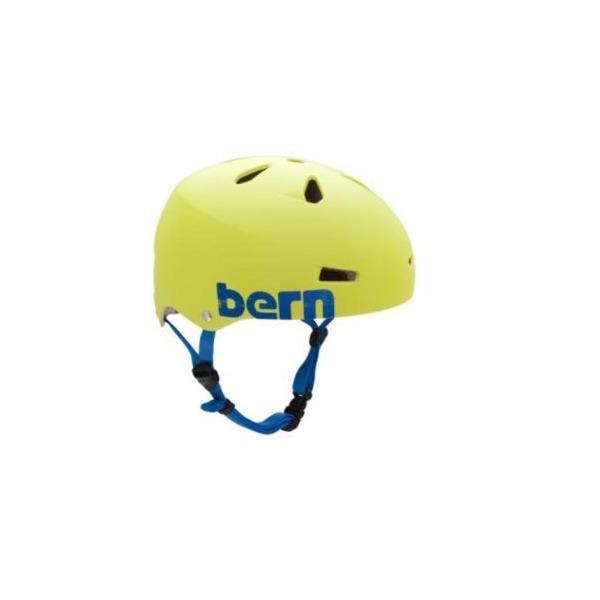 Bern Macon Summer Hard Hat, Matte Neon Yellow, Large
