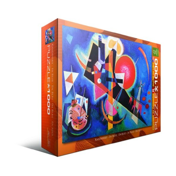 In Blue by Kandinsky 1000-Piece Puzzle