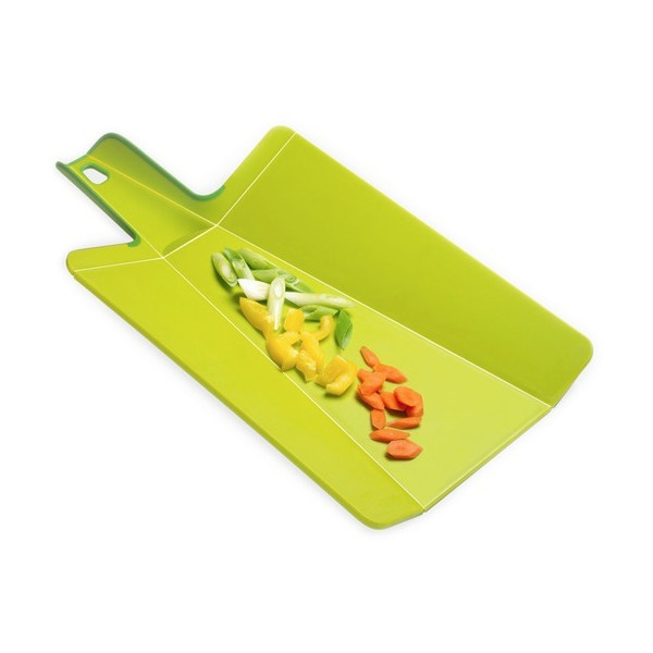 Joseph Joseph Large Chop2 Folding Chopping Board, Green