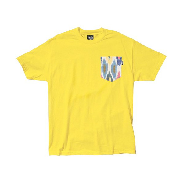 Quiet Life: Ikat Bright Pocket T Shirt