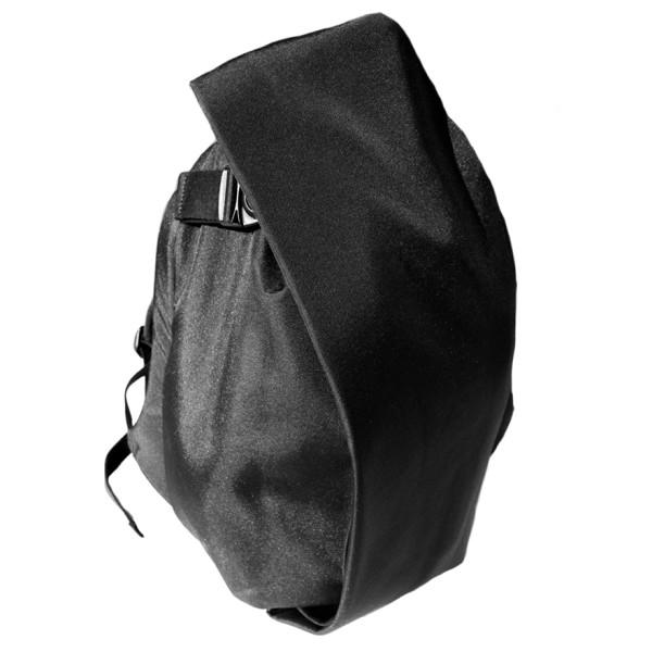 Cote et Ciel Black Melange Laptop Rucksack