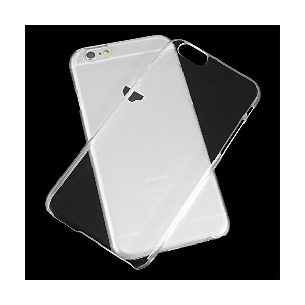 iPhone 6 Case, TOTALLEE Clip 'n' Clear Hard Transparent iPhone 6 (4.7 inch) Case Thin Snap On Back