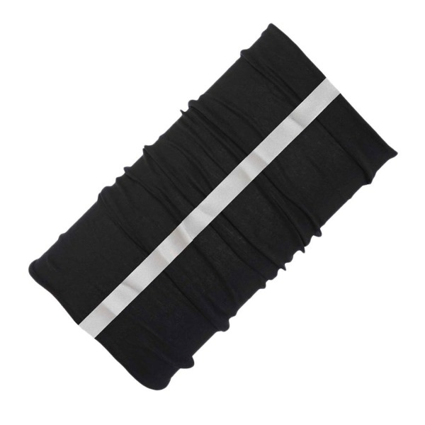Buff Unisex Reflective Buff Warm Headband O/S, Black