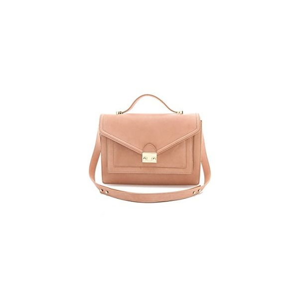 Loeffler Randall Women's The Rider Bag, Nude, One Size