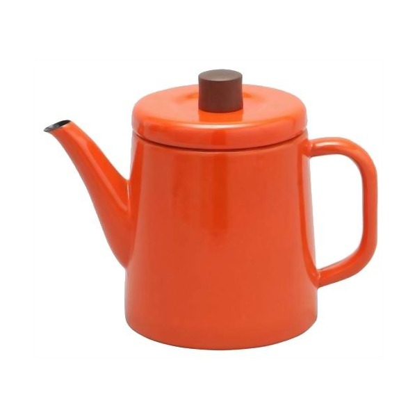 Noda Horo Enamel Pottle, Orange