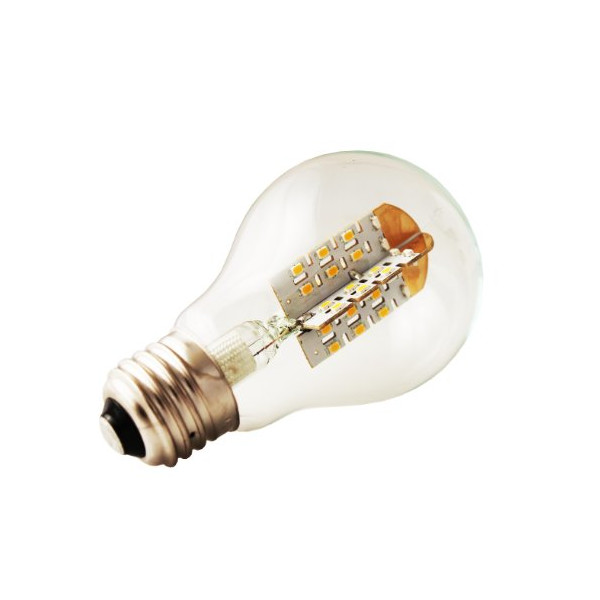 EarthLED DesignoLUX-360 C533N-A19-C A19 LED Light Bulb with Clear Lens