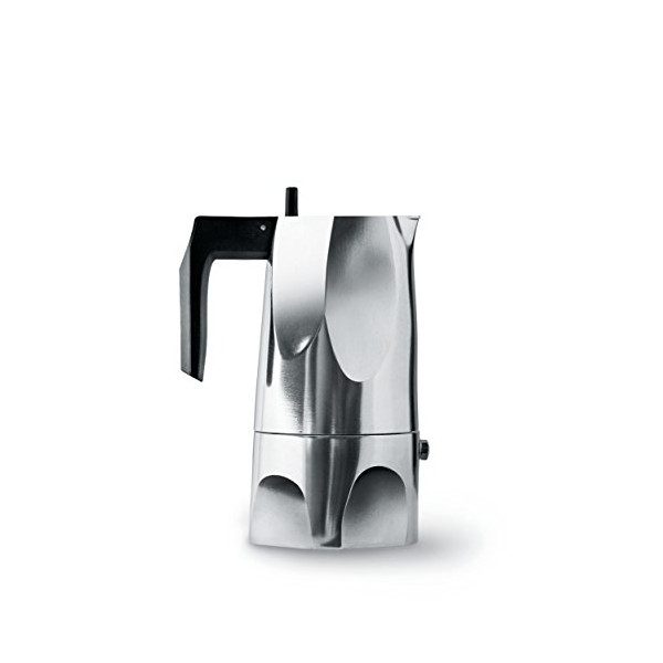 Ossidiana Espresso Coffee Maker By Mario Trimarchi for Alessi (3 cup/ 5.25 oz)