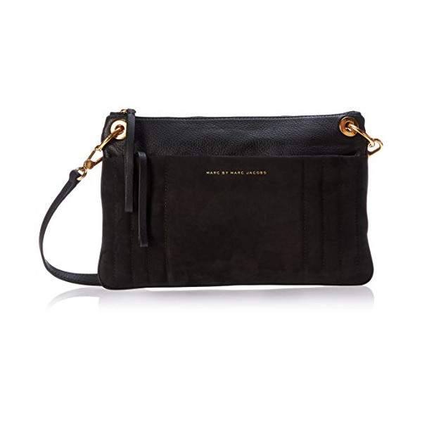 Marc by Marc Jacobs Tread Lightly Cross Body Bag, Black, One Size