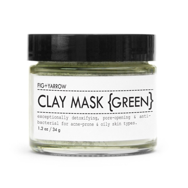 FIG+YARROW Organic Clay Mask, Green