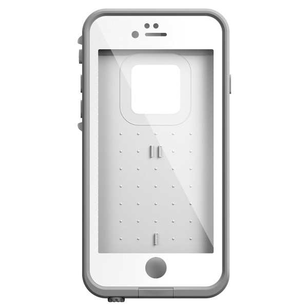 LifeProof iPhone 6, Fre Series, Bright White and Cool Gray