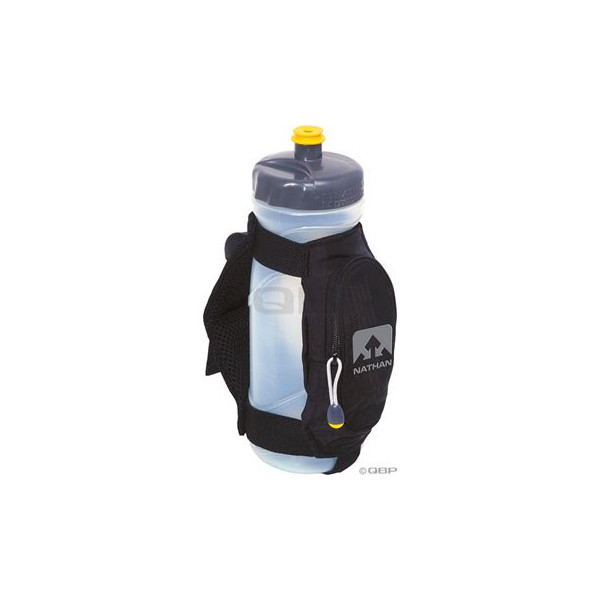 Nathan Quick Draw Plus Handheld Bottle Carrier (Black)