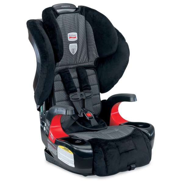 Britax Pioneer 70 Harness-2-Booster Car Seat, Onyx