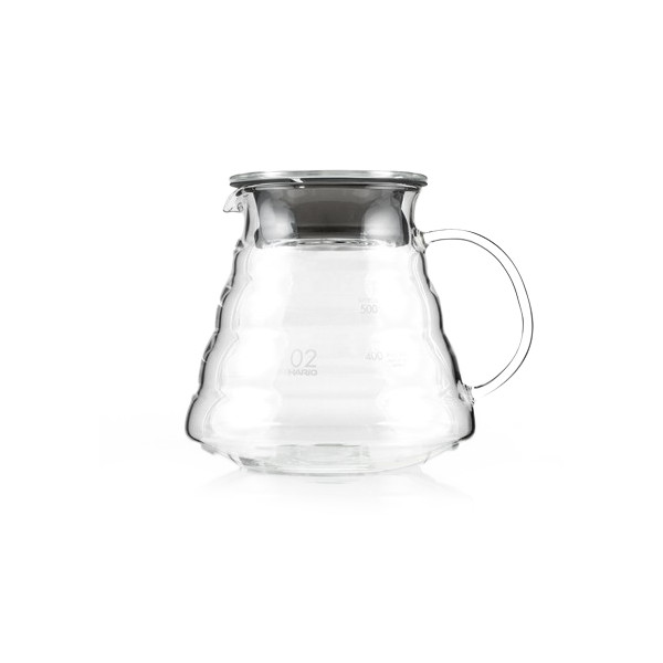 Hario V60 Range Coffee Server, 360ml, Clear