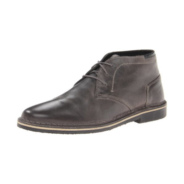 Steve Madden Men's Hestonn Chukka Boot,Grey,12 M US