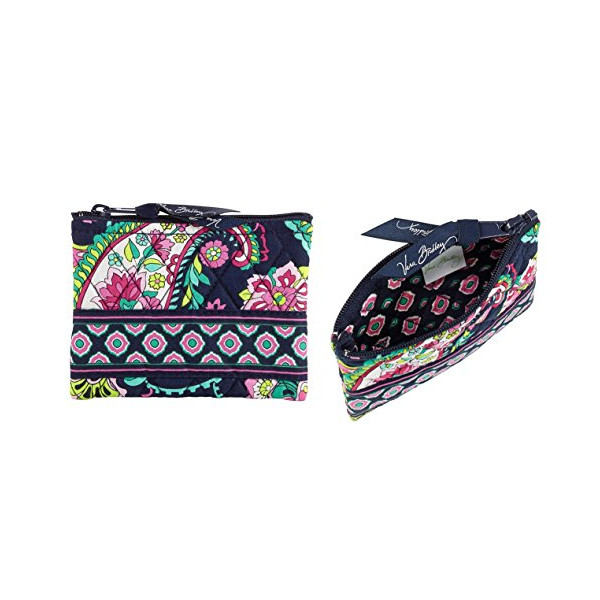 Vera Bradley Coin Purse in Petal Paisley