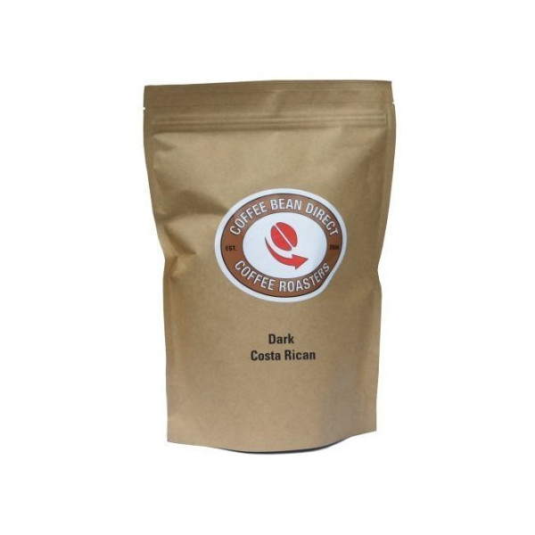 Dark Costa Rican Tarrazu, Whole Bean Coffee, 16 Ounce Bags (Pack of 3)