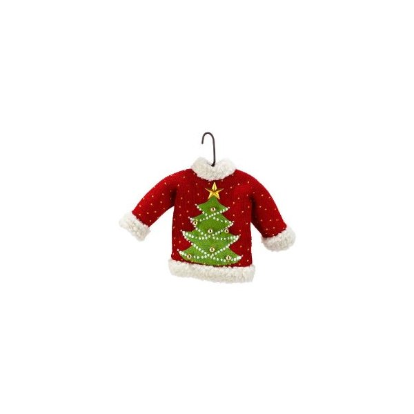 Department 56 Christmas Tree Ugly Sweater Orn