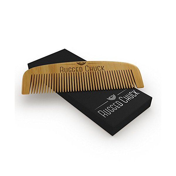 Rugged Chuck Beard Comb - The Ultimate Beard Care Accessory!