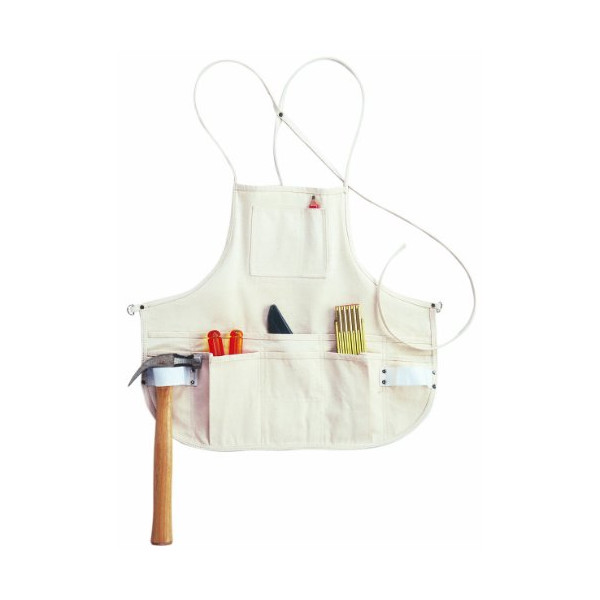 Custom Leathercraft C10 Canvas Bib Apron, 12 Pocket