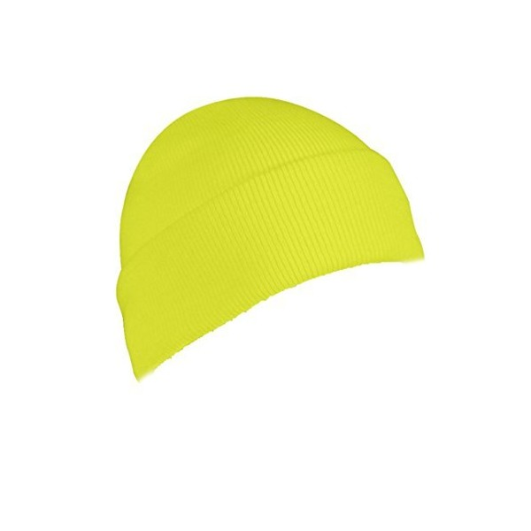 5785 Safety Bright Lime Green Hivis Acrylic Knit Watch Cap