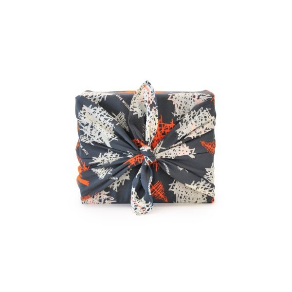 Chewing the Cud WIS-403P Reusable Give Wisdom Trees Fabric Wraps, Persimmon