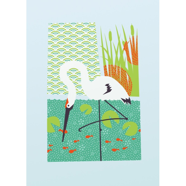 Whooping Crane from bee things