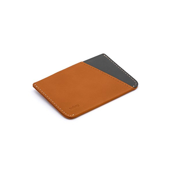 Bellroy Leather Micro Sleeve Wallet Caramel