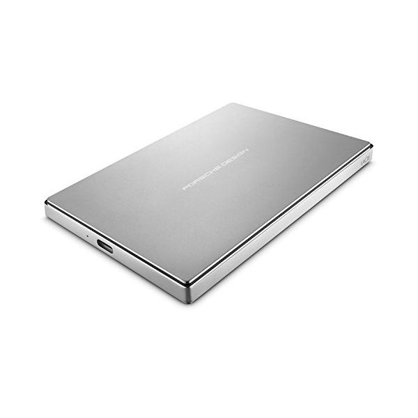 LaCie Porsche Design 2TB USB-C Mobile Hard Drive STFD2000402 - Silver