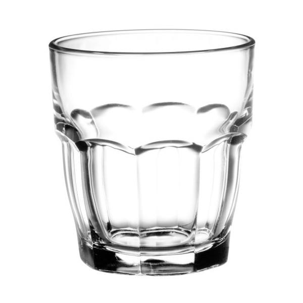 Bormioli Rocco Rock Bar Stackable Rocks Glasses, Set of 6, 9 oz.