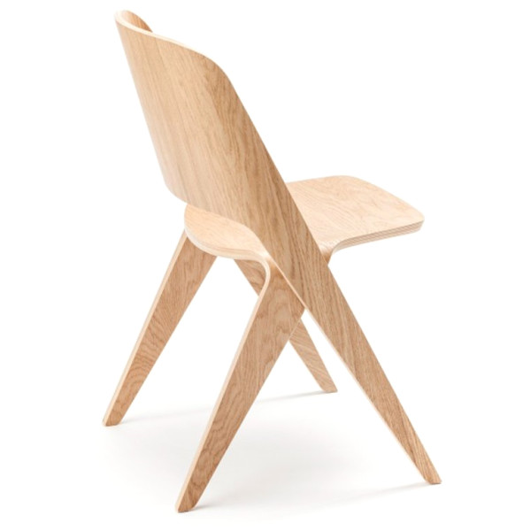 Lavitta Molded Plywood Chair, Soft Oak
