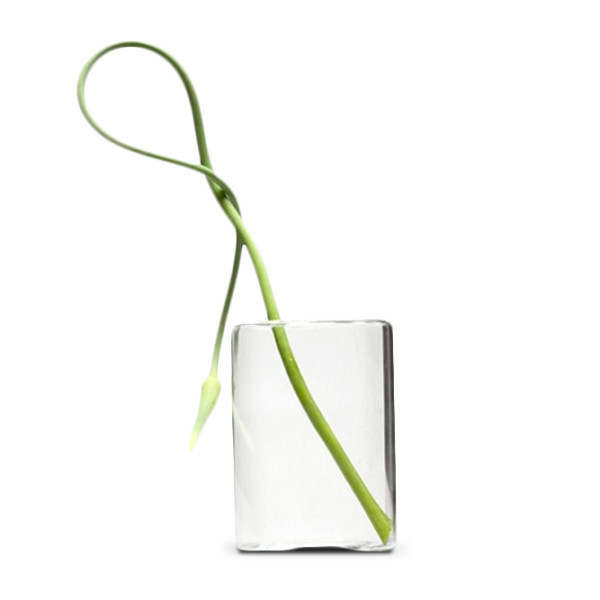 Chive, Hudson Cube, Glass Flower Vase