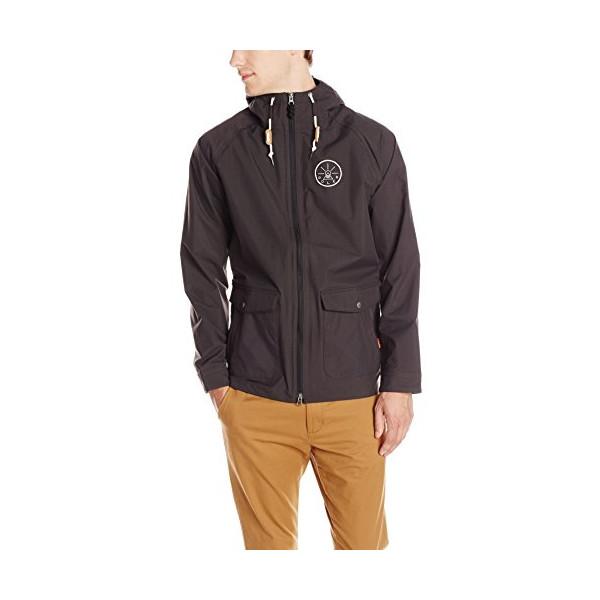 Poler Men's 2.5L Vagabond Jacket, Black, Medium
