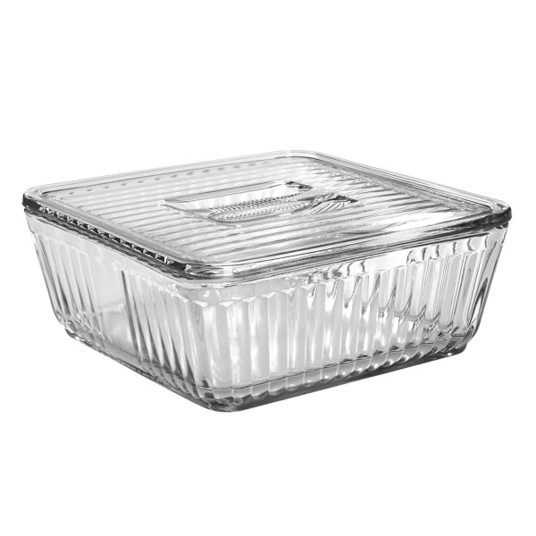 Anchor Hocking 12-Cup Baking 'N' Store Dish with Glass Lid